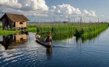 Inle Lake - The Floating Life Scenes in Myanmar
