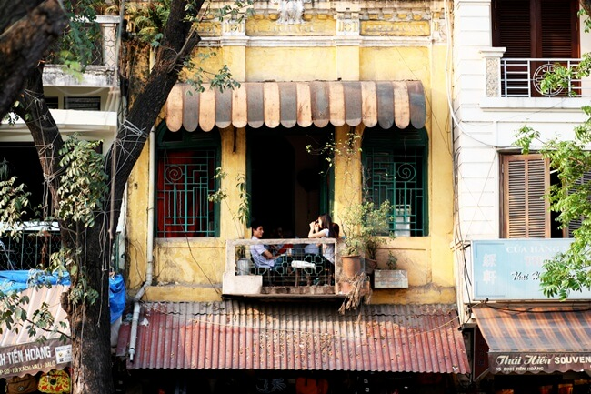 Hanoi Old Quarter Coffee shops 4