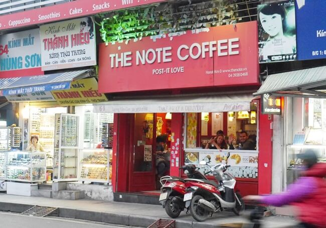 Hanoi Old Quarter Coffee shops 13