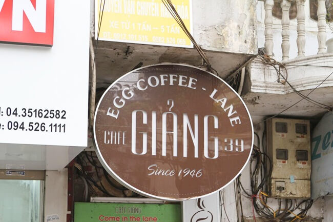 Hanoi Old Quarter Coffee shops 2