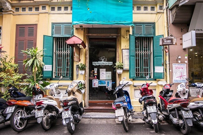 Hanoi Old Quarter Coffee shops